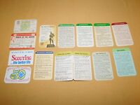 VINTAGE BSA BOY SCOUTS OF AMERICA 1960S-1980 13 MISC CARDS