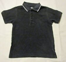 CHEROKEE navy POLO SHIRT with white striped detail on collar 18-24 months