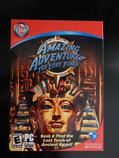 BRAND NEW!  AMAZING ADVENTURES THE LOST TOMB SEEK & FIND HIDDEN OBJECT  PC GAME