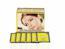 UV-NAILS Gel polish remover pads with acetone 200 pads - Lemon Scent