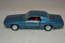 Inter cars ref 105 Ford Thunderbird 1:43 blue in very near mint in box condition