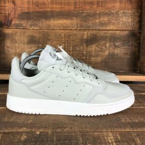 Adidas Womens Supercourt Gray EE6045 Low Top Lace Up Athletic Shoes Size US 8