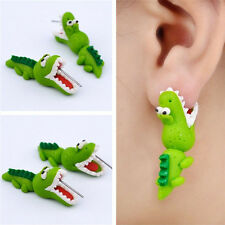 Fashion Women Girl Cartoon 3D Animal Earrings Ear Stud Earrings Jewelry Gift