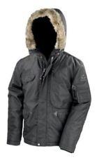 Abrigos y chaquetas de hombre parka de nailon