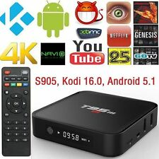 New T95M Smart TV Box Amlogic S905 Quad Core Android 5.1 4K HD 1GB+8GB 2.4GHz