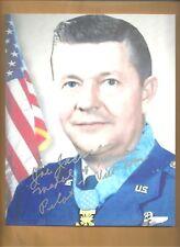 """Joe Jackson """"Medal Of Honor"""" Pilot Vietnam Autographed 8x10 Picture Photo"""