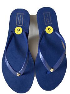 Kate Spade New York Blue Thong Flip Flops Sandal.SZ:9M