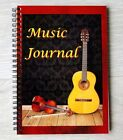Music Journal - A5 Wire Bound Book to Record Detail of your Musical Performances