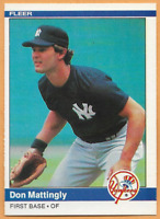 1984 Fleer Don Mattingly Rookie RC #131 New York Yankees