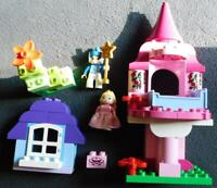 Lego DUPLO SET 10542 SLEEPING BEAUTY'S FAIRYTALE CASTLE RABBIT  FAIRY GODMOTHER