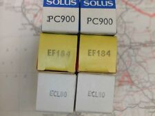 QTY 2 OF ECL80 EF184 PC900 ALL BLACKBURN UK MADE NEW & BOXED