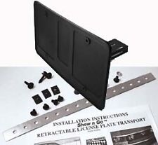 Show N Go Manual Retractable License Plate Frame Fits All Cars UNIVERSAL!