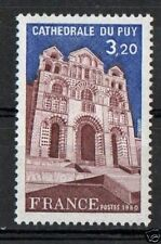 STAMP / TIMBRE FRANCE OBLITERE N° 2084  CATHEDRALE DU PUY