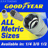 METRIC HEX SOCKETS 1/4 3/8 1/2 SQUARE DRIVE GOODYEAR SET SIZES STANDARD & DEEP