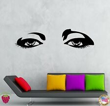 Wall Stickers Vinyl Decal Beautiful Female Woman Girl Teen Eyes  (z2017)
