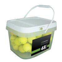 48 Premium Yellow Mint Used Golf Balls AAAAA *In a Free Bucket!* *SALE!*