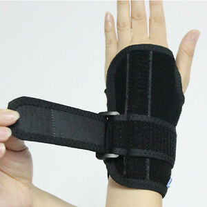 Medical Wrist Hand Brace Removeable Splint Support Carpal Tunnel Wristbands