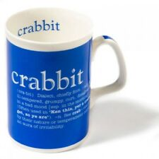 'Crabbit' Scottish Dialect & Definition Bone China Mug