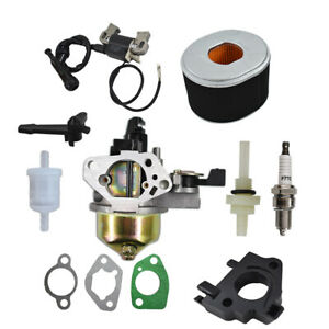 NEW GX390 13HP FOR HONDA CARBURETOR WITH IGNITION COIL SPARK PLUG AND AIR FILTER