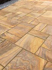 Rainbow Indian Sandstone Paving Slabs 900x600 Sawn Sandstone Paving (19.50m2)