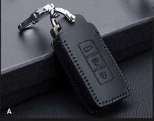 Car Remote Leather Case cover Leather car remote case Car Accessories 3 button
