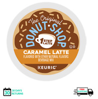 Donut Shop 1 One Step Caramel Latte Keurig Coffee K-cups YOU PICK THE SIZE