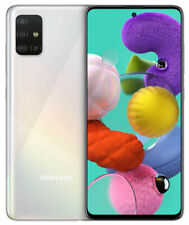 Samsung Galaxy A51 SM-A515F/DS - 128GB - Blanc Prismatique (Désimlocké) (Double SIM)