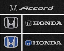 Lloyd Mats Honda Accord Logo Ultimat Custom Fit Front Floor Mats (1976 & Up)
