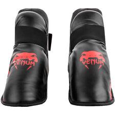 Venum Challenger Lightweight Slip-On Hook and Loop Foot Gear - Black/Red