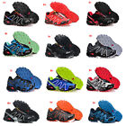 Men's Sports Salomon Speedcross 3 Athletic Sneakers Running Hiking Casual Shoes