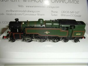 BACHMANN STANDARD CLASS 4MT TANK BR LINED GREEN LATE CREST PRESERVED REF: 32-353