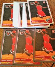 BOBBY PORTIS 2015-16 ROOKIE INVESTMENT LOT (50) COMPLETE + SILVER PARALLEL RC