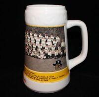 1960 World Series Pittsburgh Pirates vs New York Yankees Ceramic Mug