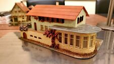 """FALLER HO 219 Hotel / Cafe - composition/wood/stucco built building """"Route 66"""""""