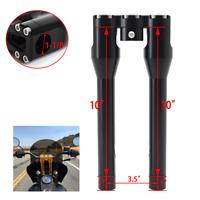 """1-7//8/"""" Riser Stem Set Chrome fits Harley-Davidson"""