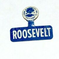 1936 Franklin Roosevelt FDR TAB campaign pinback button political presidential