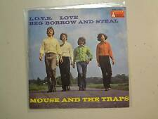 "MOUSE & THE TRAPS:L.O.V.E. Love-Lie,Beg Borrow And Steal-Germany 7"" Racket PSL"