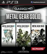Metal Gear Solid HD Collection PS3 (Leer Descripción)