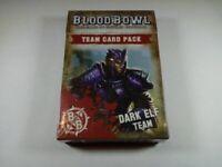 Blood Bowl Team Card Pack – Dark Elf 60220912001 (Limited, OOP, New)