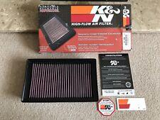 K&N 33-2998 Panel Air Filter fits Peugeot 308 3008 5008 RCZ & Citroen C4 DS5 DS5