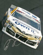 BRIAN VICKERS signed NASCAR 8X10 photo with COA