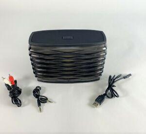 iHome iBT90 Black Splashproof Coloring Changing Speaker 986B-IBT84 5V 500mA