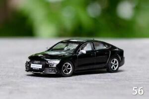 GCD 1:64 Audi RS7 Sportback black LHD Model Car