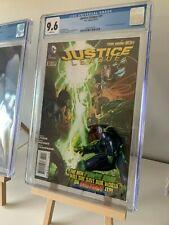 JUSTICE LEAGUE #31 CGC 9.6 1st Full App Jessica Cruz