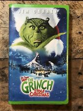 How the Grinch Stole Christmas Vhs Movie