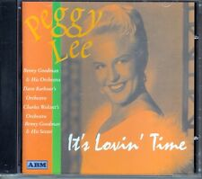 PEGGY LEE - IT'S LOVIN' TIME - CD 1999