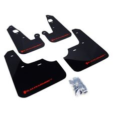 Rally Armor 2007+ Mitsubishi Lancer (doesn't fit Sportback) UR Black Mud Flap w/