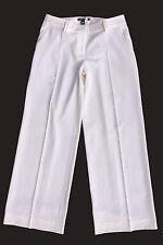 Versace pantalone donna avorio-bianco mod palazzo Tg.46 autentico made in italy