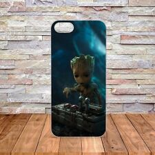 NEW Baby Groot Loves the Death Button / Hard Phone Case Fits iPhone/Samsung 54