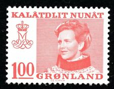 Greenland 1977 100 Ore Queen Margrethe II Mint Unhinged